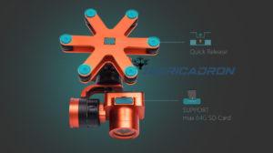 cámara IP67 splash drone 3